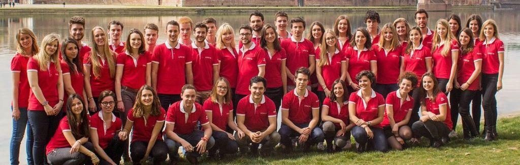50 étudiants arpentent la ville  à la recherche des meilleures adresses