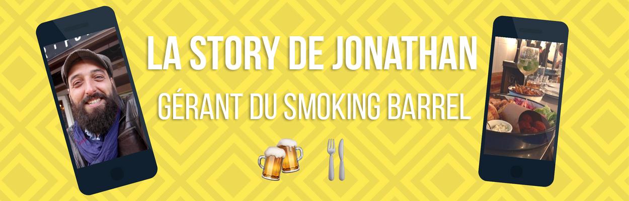 LA STORY DE JONATHAN, GÉRANT DU SMOKING BARREL
