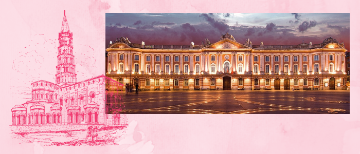 toulouse-capitole-rose