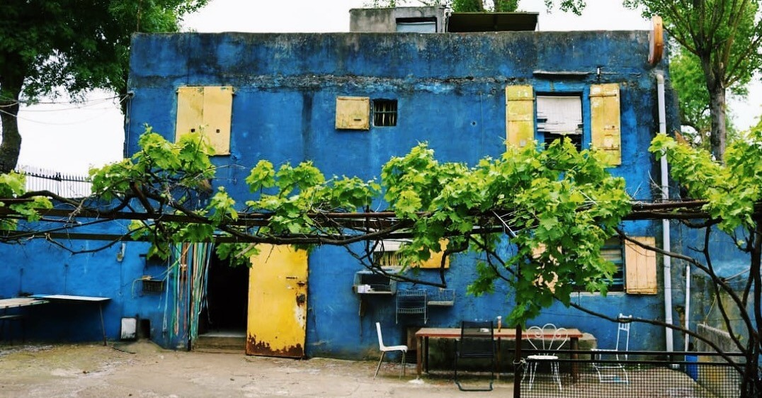 Bleu bleu - bar - Toulouse - guinguette