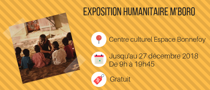 Exposition humanitaire m'boro
