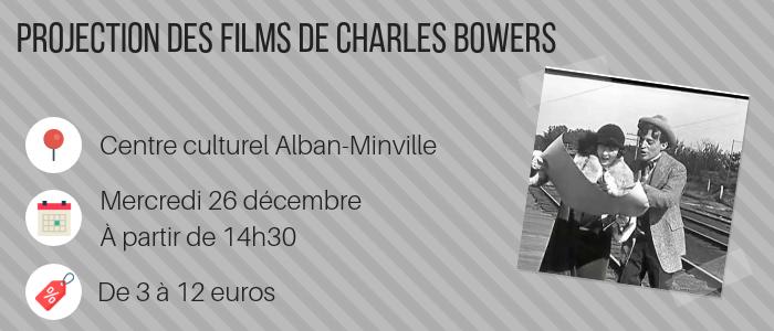Projection des films de Charles Bowers