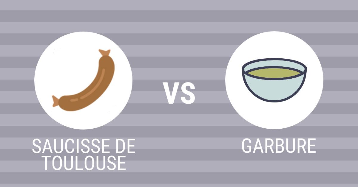 Saucisse de Toulouse - Garbure