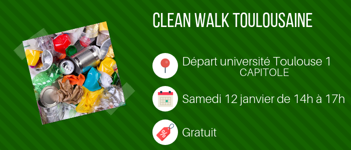 Clean walk - Toulouse