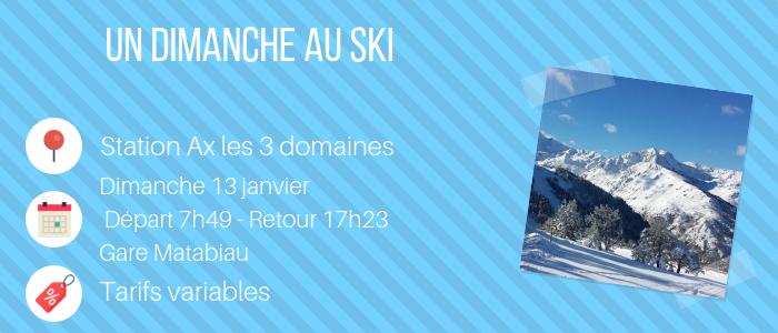 Dimanche au ski - Toulouse
