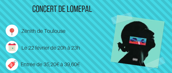 Concert - Lomepal - Toulouse