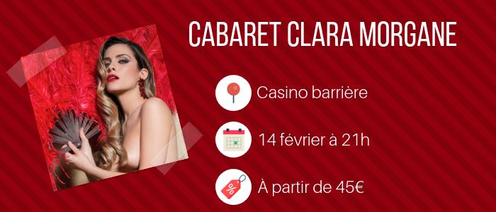 Cabaret Clara Morgane