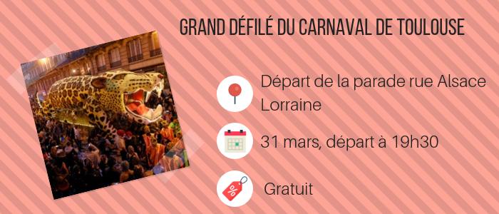 Grand défilé du carnaval- Toulouse