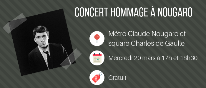 Concert hommage à Nougaro