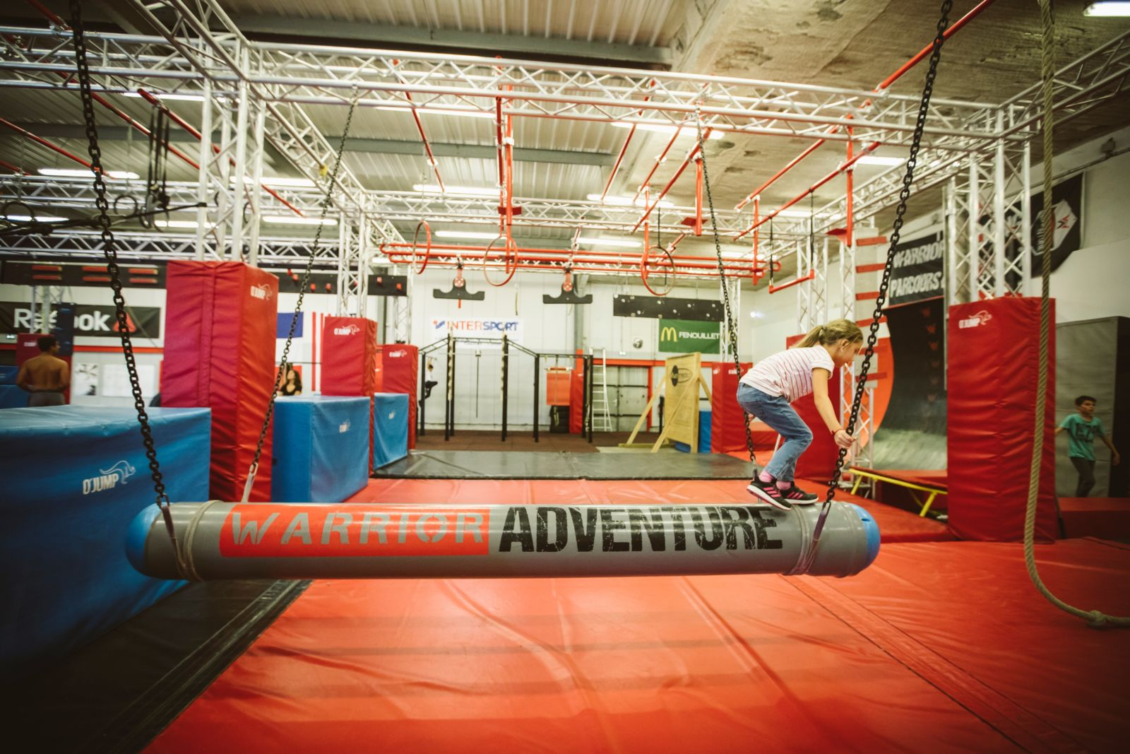 Warrior adventure - ninja warrior - toulouse