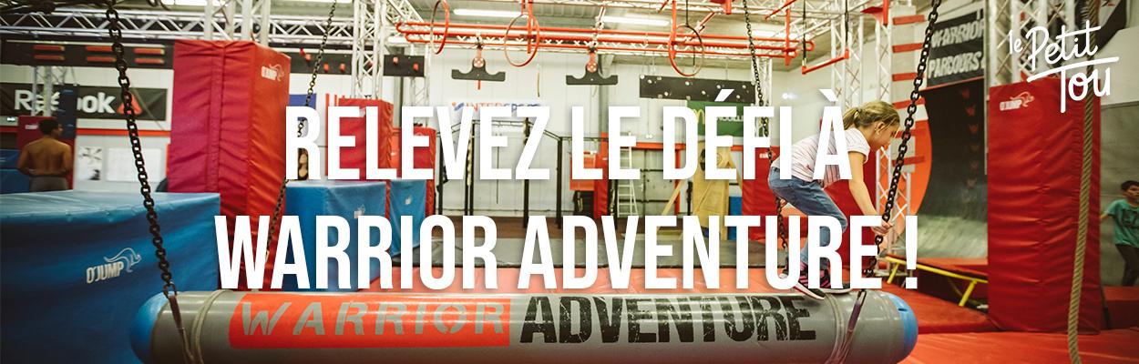 À vos marques… Prêt… Relevez le défi à Warrior Adventure !