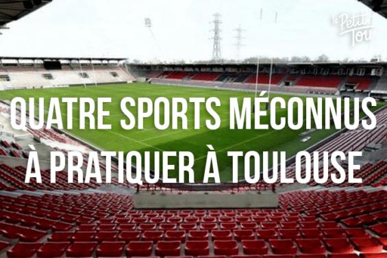 4 sports méconnus que l'on peut pratiquer à Toulouse !