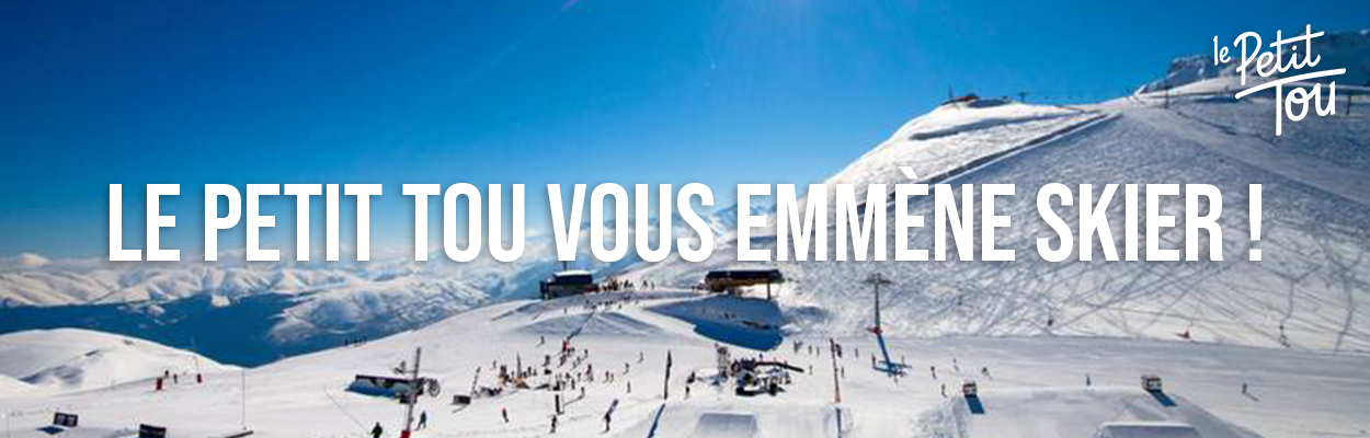 Le Petit Tou vous emmène skier !